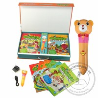 The Most Popular Kids English Educattional Growing Up Books with English and Chinese Talking Pen set for Learning English