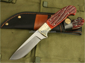 New Arrival OEM Survival Hunting Knife with bone handle