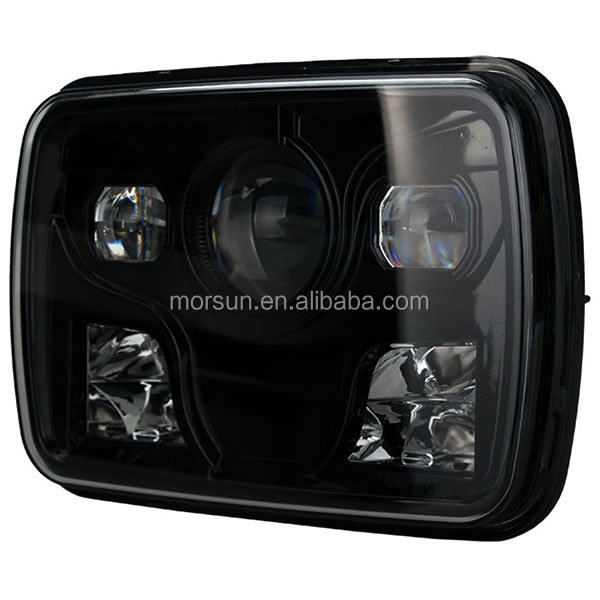 5x7 square high power led headlight DOT Approved