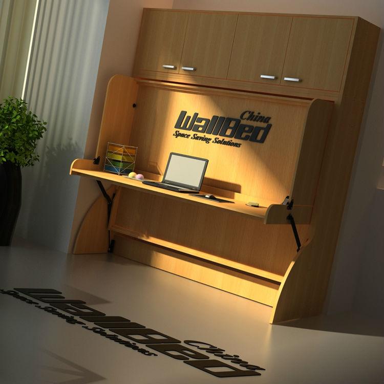 Finden Sie Hohe Qualität Klappbett Mit Schreibtisch Hersteller und ...