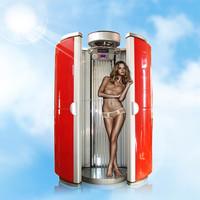 Home solarium spray tan booth