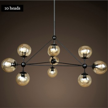 modern ball pendant lamp hanging villa project matel bubble glass ball chandelier lighting buy. Black Bedroom Furniture Sets. Home Design Ideas