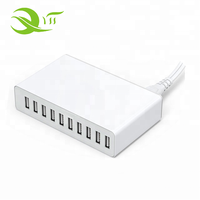 Anker Charger 50W 10A 10 Port Smart Multi Port USB Charger for Smart Phone