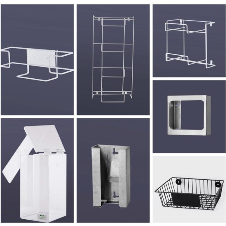 Acrylic Box To Hang On Wall : Wall mounted clear acrylic glove box dispenser buy