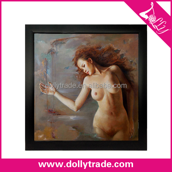 Classic Hot Sexy Nude Woman Body Oil Painting