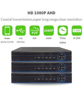 Vitevision IP,AHD,Analog Hybrid Dahua NVR 1080P with free client software  H 264 DVR