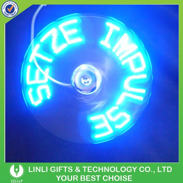 product detail usb driver led message fan program self programmable