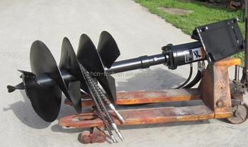 Auger drive unit and auger bit for sale buy auger drive for Hydraulic auger motor for sale