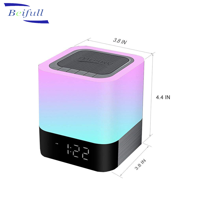 Wireless Bluetooth Speaker Music Bulb Light Loudspeaker Intelligent E27 Bulb 12w Led Color-changing For Home Stage By Samrtphone Rich And Magnificent Speakers Consumer Electronics