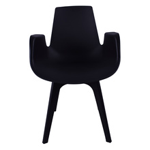 Fashion design polypropylene chair stackable plastic chair