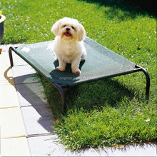 hammock design pet product for sleeping with breathable replacement cover metal frame dog bed