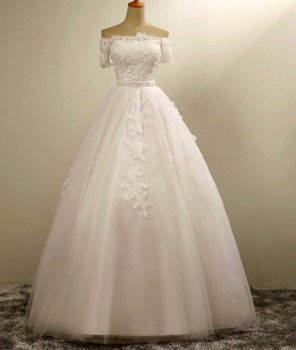 Venta de vestido de novia con encaje