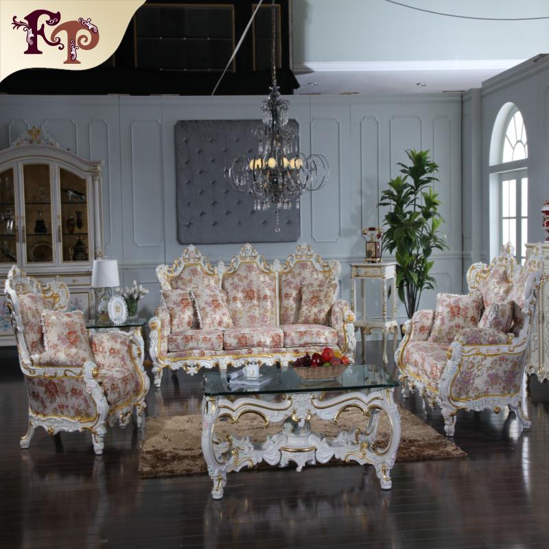 2016 Classic Europe Königlichen Stil Wohnzimmer Möbel Luxus Französisch  Sofa Set