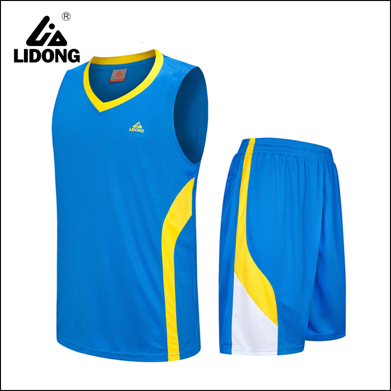 new style logo design sportswear basketball wear men sets adults basketball jersey Uniform