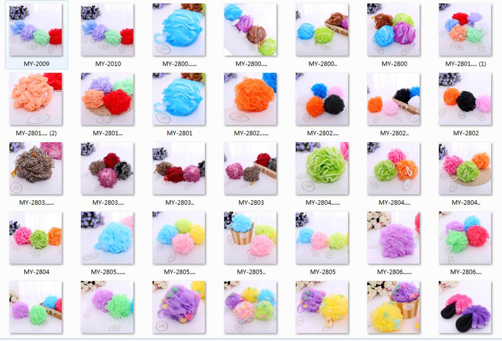 2019 wholesale shower sponge bath puff