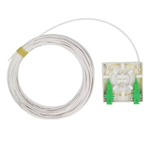 FTTH <span class=keywords><strong>2</strong></span> Core/Port Serat Optik Dinding Outlet Box Terminasi dengan <span class=keywords><strong>2</strong></span> SC APC <span class=keywords><strong>Kuncir</strong></span> dan Adaptor