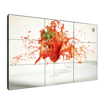 49 Inch 3.5mm LCD Video Wall with super Narrow Bezel