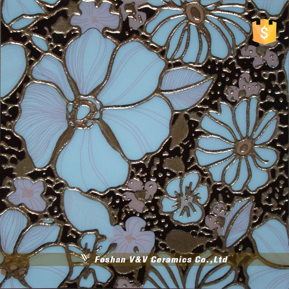 Motif de fleurs en c ramique parquet carrelage de sol muraux tuiles id de pro - Carrelage motif parquet ...