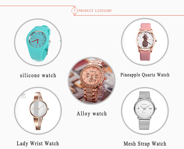 2019 Hot Products Fashion China Watch Modern Ladies Quartz Watches Montre Femme
