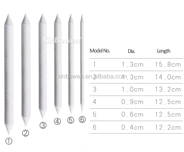 Stumps 6pcs//set Tool Sketch Drawing Pen Tortillon Art Drawing Pen Drawing Tool