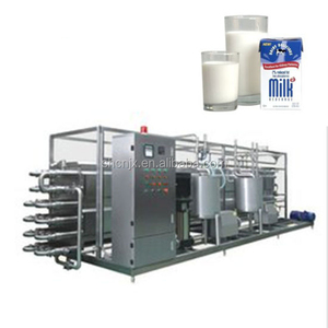 Small Yogurt Processing Line UHT Milk Making Machines
