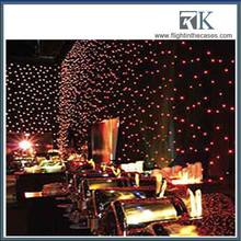 RGB Tricolor 3IN1 LED Star Curtain,LED Star Cloth/P55 full color night club