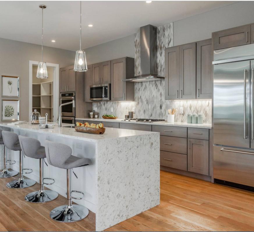 Stainless Steel Kitchen Design Interior