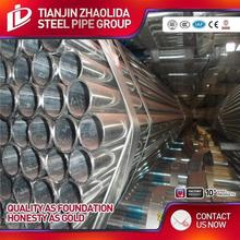 MS / CS welded cold rolled schedule 40 pre galvanized steel stock tube iron pipe with factory price