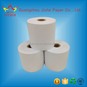 60gsm thermal paper roll with customized from guangzhou company