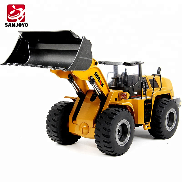 Pre-sale Newest Huina 583 Alloy Material Simulation Sound 4 Driving Force  Strong Endurance Long Alloy Scoop Wheelloader Sjy-583 - Buy Wheelloader