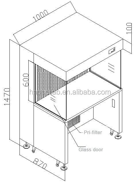 stainless steel   pp laboratory fume hood lab equipment