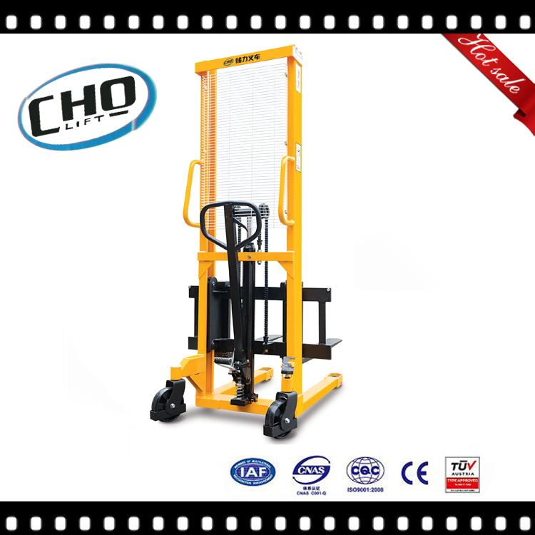 Cholift 1500kg Manual Pallet Stacker with CE Certificate