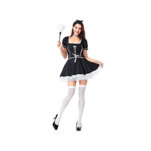 Hoge Kwaliteit Sexy Ongehoorzame Franse Maid Kostuum <span class=keywords><strong>Cosplay</strong></span>