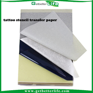 Getbetterlife wholesale Imported temporary tattoo transfer paper, tattoo stencil thermal transfer paper