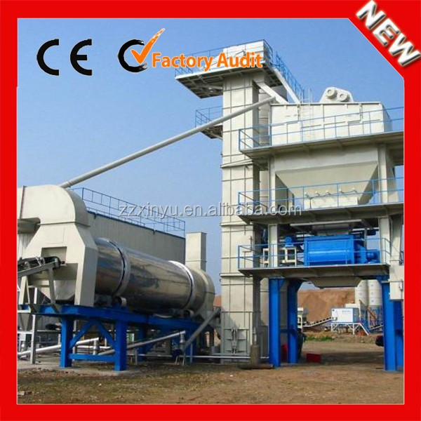XINYU High quality asphalt drum mixer plant with CE&ISO