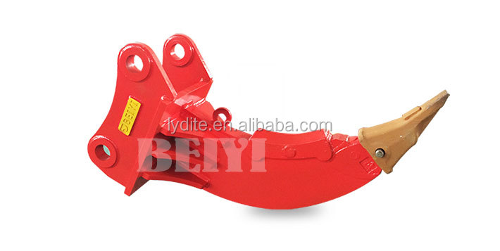 Chinese famous manufacturer LYD made excavator ripper  equipment ripper bucket and ripper tooth for excavator on sale