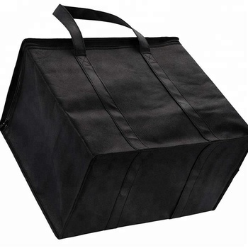 Insulated Reusable Grocery Bag Extra Large Size Stands Upright Collapsible bag with Sturdy zipper