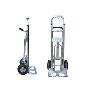 3 in 1 convertible aluminium hand trolley construction heavy duty trolley price