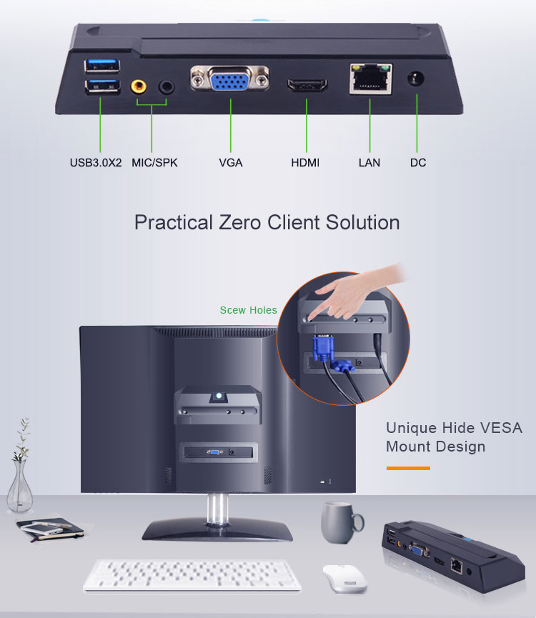 2018 シンクライアントクラウドデバイス Pc ステーション卸売価格