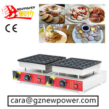 50 Pcs Electric 110v 220v Mini Pancake Machine Poffertjes Grill Dutch Waffle Maker