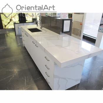 Calacatta Novo Quartz Countertops With