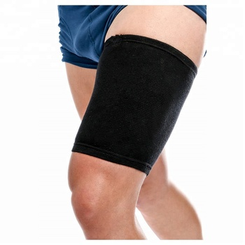 Durable Thigh Compression Sleeve Support Compression Recovery Thigh Sleeve For Sore Hamstring Groin Quad Support