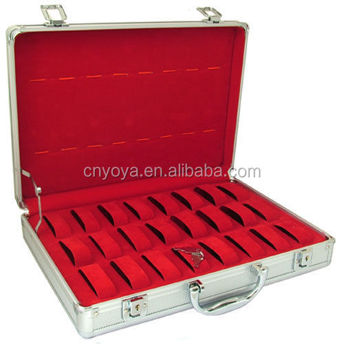 Aluminium Briefcase 32 Watch Storage Display Case   Buy Aluminum  Case,Aluminum Carrying Case,Aluminum Camera Case Product On Alibaba.com