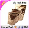 Yason ziplock bags for storage reusable freezer bag ziplock zipper sealing medicine bag