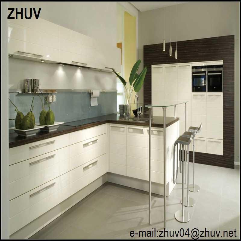 Vinyl Kitchen Cabinet Doors: Vinyl Wrap Deuren Hoogglans Keukenkasten, Lak Houten
