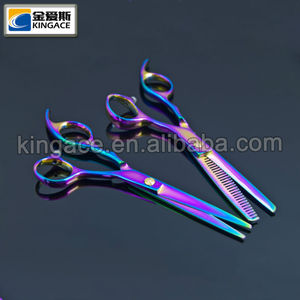 Hot Threading Hair Scissors for Cutting Hair
