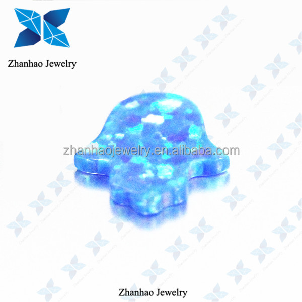 Wholesale price AAAAA Synthetic Jewelry Loose Stone Hamsa Hand Opal