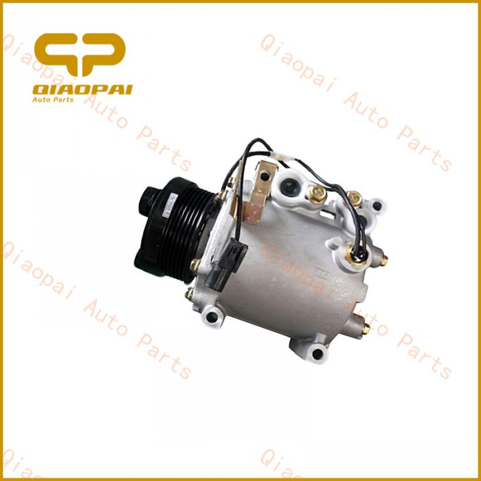 High volumetric efficiency 12V clutch 6PK car air condition Scroll Compressor Japanese parts