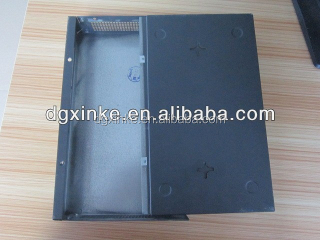 Stamping network router metal mounting enclosures