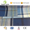 Double Check Pure Cotton Denim Fabric From China Factory